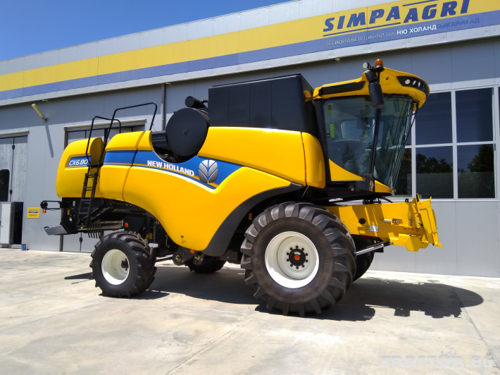 Комбайни New Holland CX 6.80 0